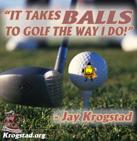 Balls to Golf like me